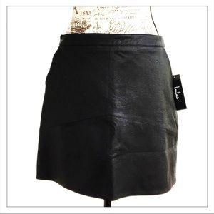 d716e14f3 Lulu's Skirts   Lulus Harley Black Vegan Leather Mini Skirt   Poshmark